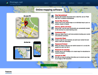pinmaps.net screenshot