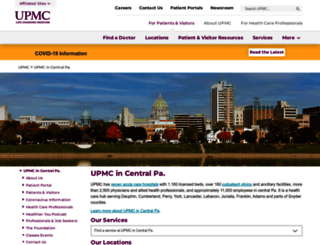 pinnaclehealth.org screenshot