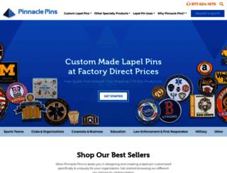 pinnaclepins.com screenshot