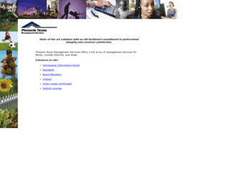 pinnacletexas.com screenshot