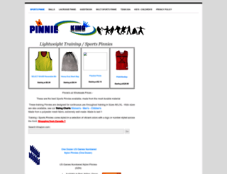 pinnieking.webs.com screenshot