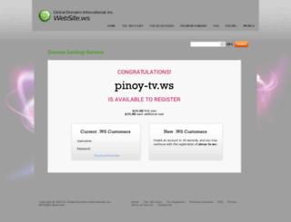 pinoy-tv.ws screenshot