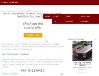 pinoychannel.uk screenshot