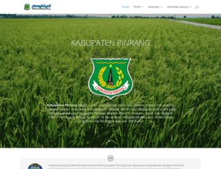pinrangkab.go.id screenshot