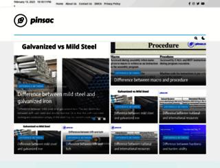 pinsac.net screenshot
