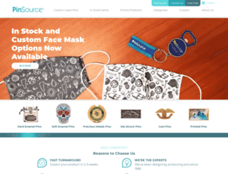 pinsource.com screenshot
