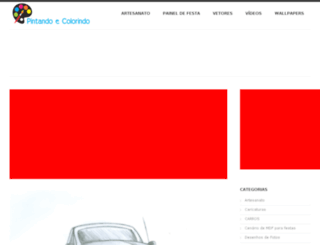 pintandoecolorindo.com.br screenshot