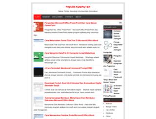 pintarkomputer.org screenshot
