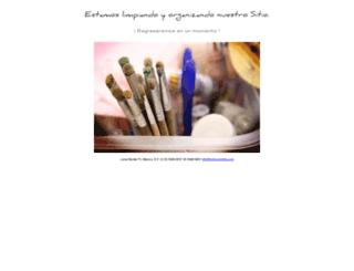 pinturaentela.com screenshot