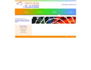 pinturasdelafuente.net screenshot