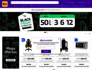 pintureriasrex.com screenshot