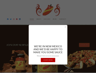 pintxosauce.com screenshot