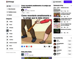pintzap.com screenshot
