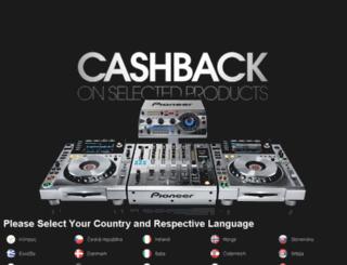 pioneer-dj-spring.sales-promotions.com screenshot