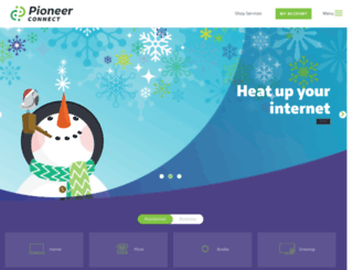 pioneer.net screenshot