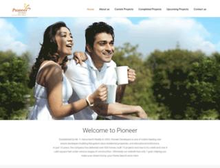 pioneerdevelopers.co.in screenshot