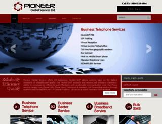 pioneerglobal.co.uk screenshot