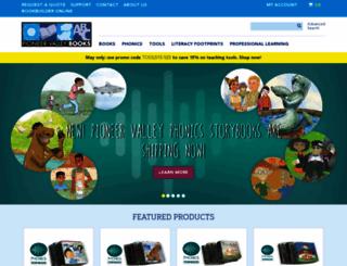pioneervalleybooks.com screenshot