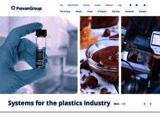 piovan.com screenshot