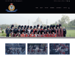 pipeband.ca screenshot