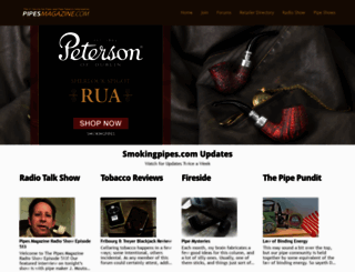 pipesmagazine.com screenshot