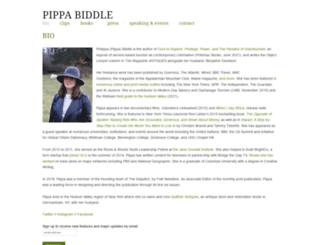 pippabiddle.com screenshot