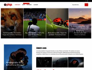 piqs.de screenshot