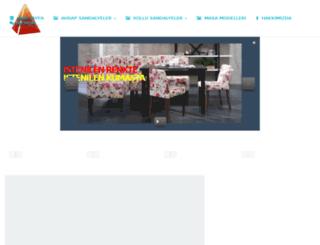 piramitsandalye.com screenshot