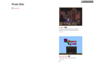 pirate-rob.itch.io screenshot
