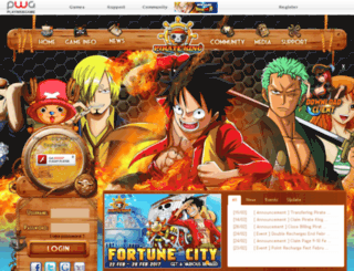 pirate.playwebgame.com screenshot