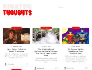 piratedthoughts.com screenshot