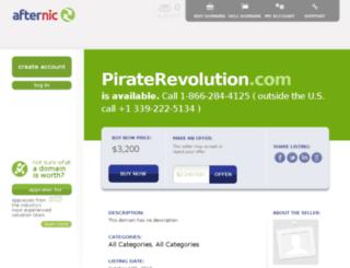 piraterevolution.com screenshot