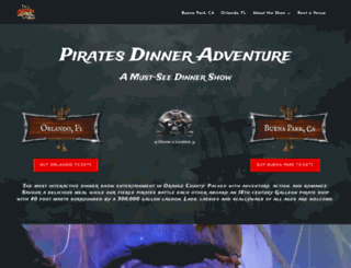 piratesdinneradventure.com screenshot