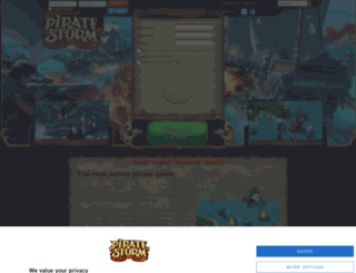 piratestorm.com screenshot
