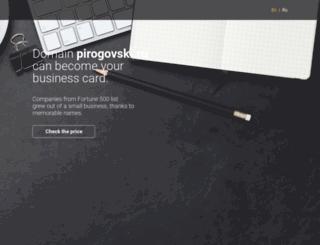 pirogovski.ru screenshot