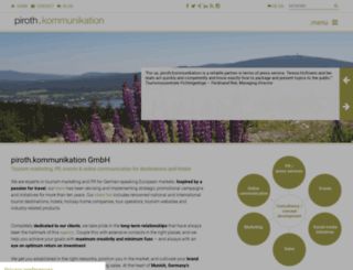 piroth-kommunikation.com screenshot