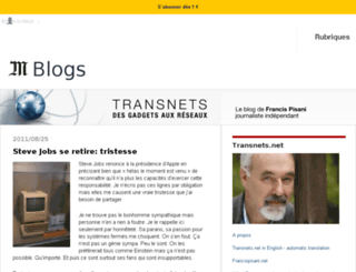 pisani.blog.lemonde.fr screenshot
