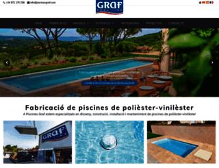 piscinasgraf.com screenshot
