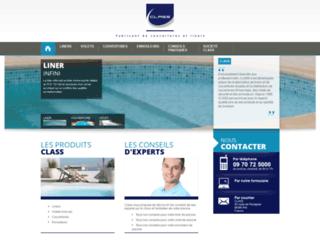 piscine-class.com screenshot