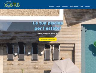 piscinesolaris.com screenshot