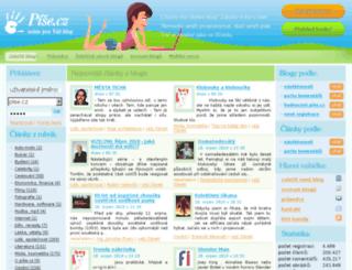pise.cz screenshot