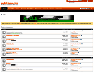 pistol-forum.com screenshot