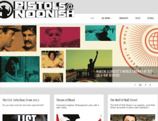 pistolsatnoonish.com screenshot