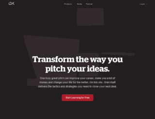 pitchanythingedge.com screenshot