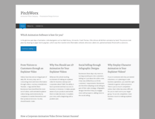 pitchworx.wordpress.com screenshot