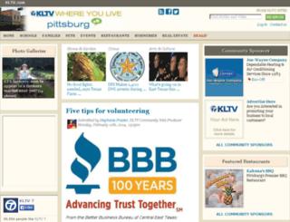 pittsburg.kltv.com screenshot