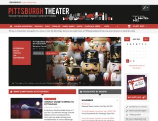 pittsburgh-theater.com screenshot