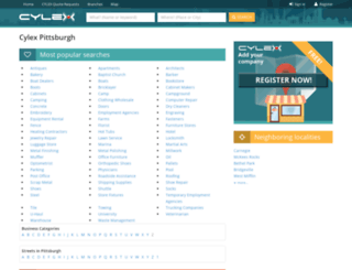 pittsburgh.cylex-usa.com screenshot