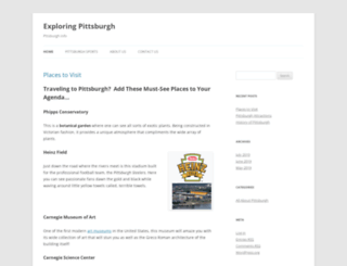 pittsburghcelebrates.org screenshot