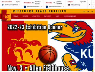 pittstategorillas.com screenshot